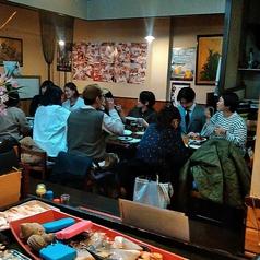 店内はいつも、ワイワイ賑わっています♪30名様以上の大人数でのご宴会も承っております!#カウンター席 #宴会 #団体 #貸切 #大人数宴会