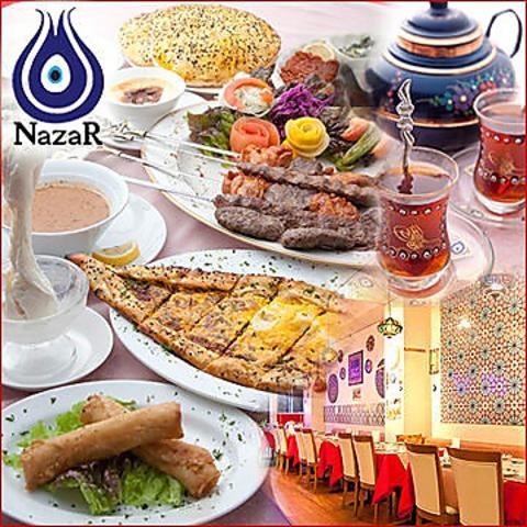 笑顔がステキなハーカンシェフが作る心のこもったトルコ料理はどれも絶品!!