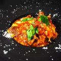 料理メニュー写真トリッパと牛タンのトマト煮
