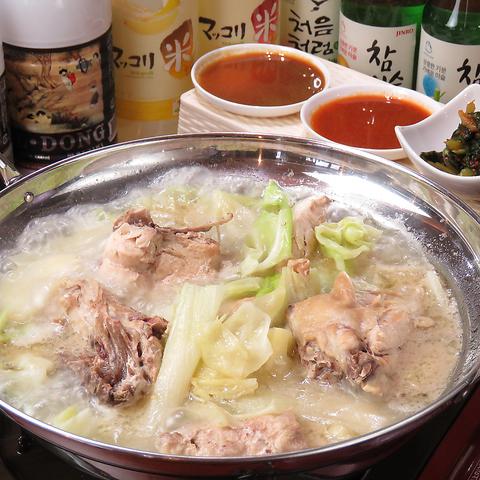 本場韓国家庭料理の味をリーズナブルなお値段でご提供♪