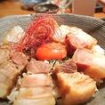角煮丼800円(税抜)
