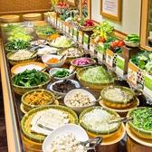 新鮮な野菜をお好きなだけどうぞ♪