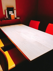 【テーブル個室】テーブル席は2名~4名様までご利用頂けます