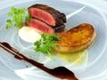 料理メニュー写真〔foie gras saute〕フォアグラソテー