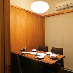 接待・宴会・お食事会などでご利用される方が多い個室席!