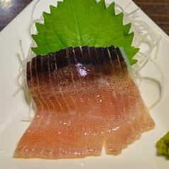料理メニュー写真イカのお刺身
