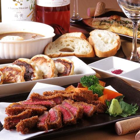 口コミで大人気の『SALASALA』岩手の食材や旬のものを、素材の味そのままに楽しめる。