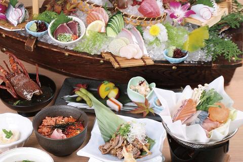 【新大阪駅1分】紀州串本をはじめ、全国の漁港より朝どれ鮮魚を直送!半個室有