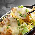 料理メニュー写真鶏もも辛味噌チーズダッカルビ