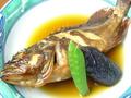 料理メニュー写真小魚煮付け