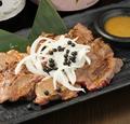 料理メニュー写真牛タンの網焼き