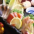 料理メニュー写真信州のお刺身3種盛り