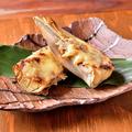 料理メニュー写真【季節限定特選メニュー】 筍と肉みそのチーズ焼き
