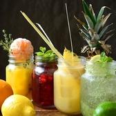 フルーツとハーブを当店オリジナルカクテルにしてノンアルコール、アルコール入りとそれぞれ2種類から選択可能!女性に大人気のドリンクです★