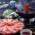 料理メニュー写真【松阪牛しゃぶしゃぶ懐石 桜】