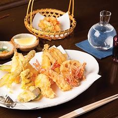 日本橋 天ぷら 魚新のコース写真