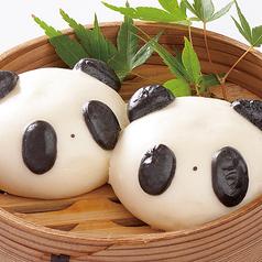 パンダ饅頭 2個