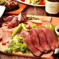 料理メニュー写真贅沢肉バルプレート(4種盛り合わせ)