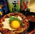 料理メニュー写真『数量限定』あぶり牛とサーモンイクラ丼 <並>