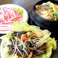 韓国料理 大長今 テヂャングムのコース写真