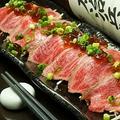 料理メニュー写真☆米沢牛のタタキ