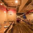 店内全てを利用した貸切は最大30名様までご利用頂けますので、ちょっとしたパーティーをするなら、各線渋谷駅から徒歩4分ほどの野菜料理のカフェ【Bio Cafe(ビオカフェ)】をご利用ください。