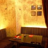 カーテン個室は一席のみ☆女子会や誕生日、記念日におすすめ♪人気の為、ご予約はお早めに!