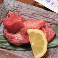料理メニュー写真厚切り牛タン塩焼き