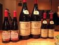★ワインが豊富★随時30種類用意し半分は時期に応じ店長オススメの品を仕入れております。