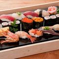 料理メニュー写真特上寿司盛合せ