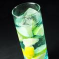 レモンとライムのシトラスカクテルも大人気!