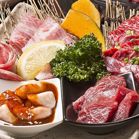 名物ジンギスカン・ホルモン・赤身肉、どれを取っても新鮮です!