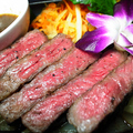 料理メニュー写真【数量限定】A4クラス「もとぶ牛」の肩ロースステーキ100g