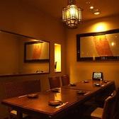 1階にはテーブルの個室あり!広々とゆったりできる空間でお食事したい方には最適です☆また、女子会や企業様の歓送迎会・歓迎会送別会など各宴会に合わせて北海道の幸をふんだんに使ったコースなど多数のコースをご用意しています!詳しくはメニューページをご覧ください♪