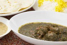 料理メニュー写真ゴルメザブジィセット(ライス、スープ付き)