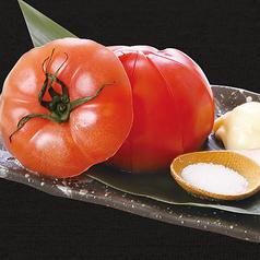 丸ごと冷やしトマト/長茄子一本漬け