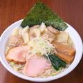 料理メニュー写真塩ワンタン麺