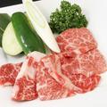 料理メニュー写真≪黒毛和牛≫カルビ 80g
