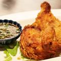 料理メニュー写真雛鶏のパリパリ揚げ