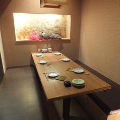 4~6名様用テーブル半個室