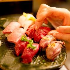 神楽坂 肉寿司の写真