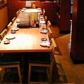 2Fテーブル席です。