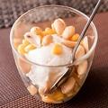 料理メニュー写真ココナッツミルクアイス