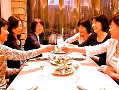 ママ会、女子会にも最適♪素敵なデザート付コースがおすすめ!