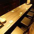 8名様テーブル個室