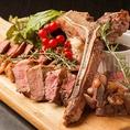道産牛を使用した本格ステーキをリーズナブルな価格でご用意してます♪