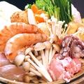 料理メニュー写真海鮮鍋 (塩・味噌・醤油)