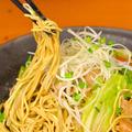 料理メニュー写真博多豚骨焼きラーメン