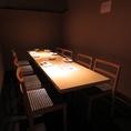 2名様~団体様までのテーブル席のご用意もございます。