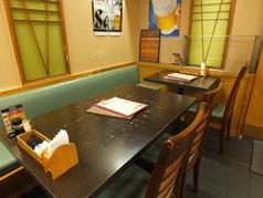 店内はテーブル席を含め全34席。宴会のご予約も承っております★宴会コースは2500円~♪